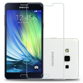 Tempered Proof Glass Tempered Screen Guard For Samsung Galaxy A7
