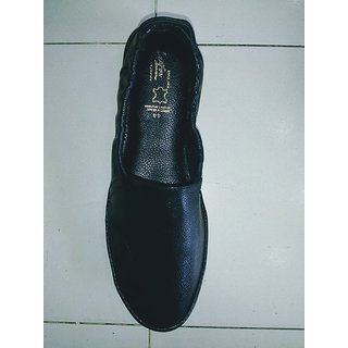 Lee Fox Mens Black Colour Causal  Shoes