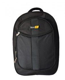 Skyline Black Laptop Backpack-Office Bag/Casual Unisex Laptop Bag-With Warranty -910