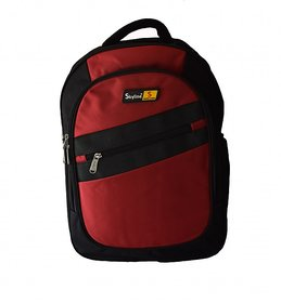 Skyline Laptop Backpack-Office Bag/Casual Unisex Laptop Bag-Red-With Warranty -909