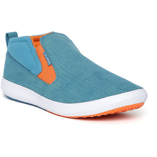 Lee Cooper Men's Turquoise Slip on Casual Shoes