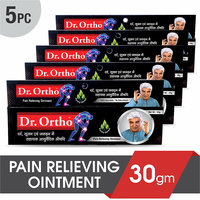 Dr. Ortho Ayurvedic Pain Relieving Ointment (30gm) Pack of 5