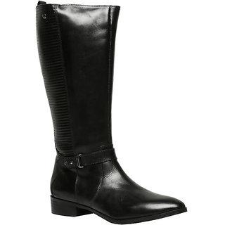 Hush Puppies Womens Black Boots