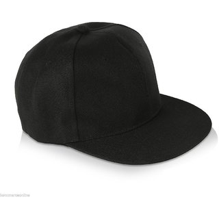 Black HipHop Snapback Caps Hats for Cool Men Gents Guys