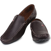 Inure Brown Casual Loafers For Men Art No101