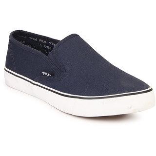 buy fila relaxer iv men's navy blue slip on casual shoes