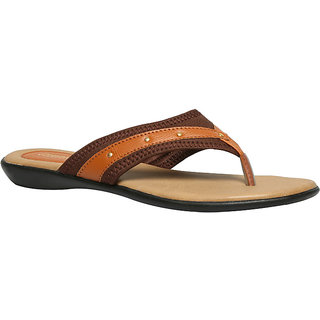 Bata Women's Tan Flats