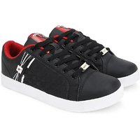 Sparx Men's Black Slip On Sneakers Shoe