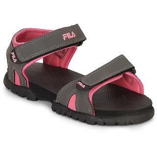 Buy Fila Women's Pink \u0026 Gray Floaters