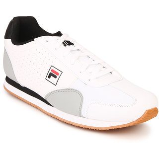 9c85275945a6 Buy Fila Hero Men s White Lace-up Sport Shoes Online   ₹2499 from ...