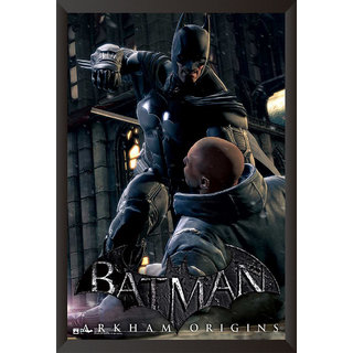Hungover Batman Arkham Origins Artwork Special Paper Poster