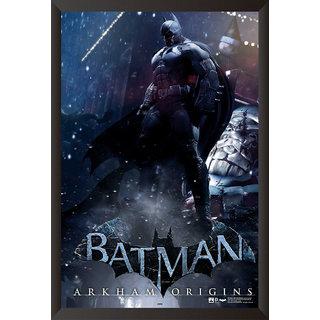 Hungover Batman Arkham Origins Artwork Special Paper Poster