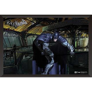 Hungover Batman Arkham City Artwork Special Paper Poster