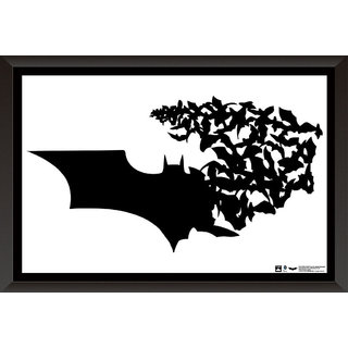 Hungover Batman Logo The Dark Knight Official Artwork Special Paper Poster