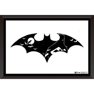 Hungover Batman Logo Arkham City Official Artwork Special Paper Poster