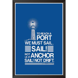 Sail Quote Poster