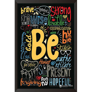 Be Quote Poster