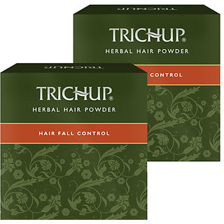 Trichup Hair Fall Control Herbal Hair Powder (120g x 2) (Pack of 2)