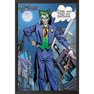 Hungover Joker The Urban Legend Comics Special Paper Poster