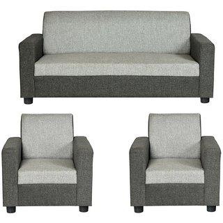 Gioteak Kimwel 5 Seater Sofa Set Grey Color
