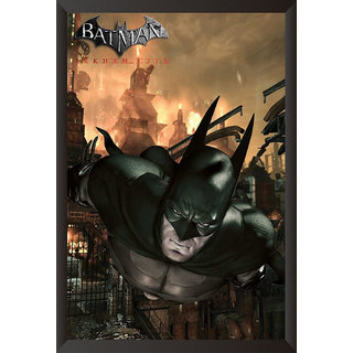 Hungover Batman Arkham City Official Artwork Special Paper Poster