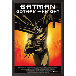 Hungover Batman Gotham Knight Special Paper Poster