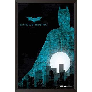Hungover Batman Begins Special Paper Poster