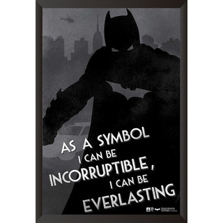 Hungover Batman Quotes Special Paper Poster