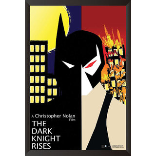 Hungover Batman The Dark Knight Rises Special Paper Poster