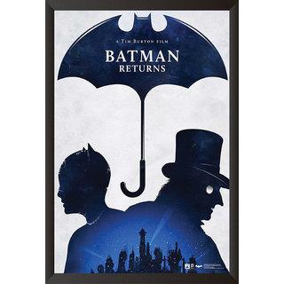 Hungover Batman Returns Special Paper Poster