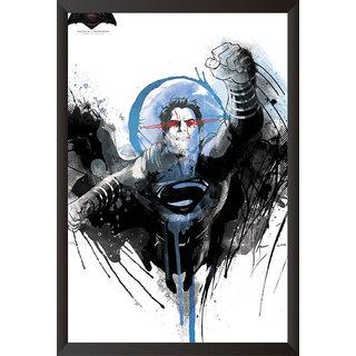 Hungover Superman Poster Batman Vs Superman Artwork Special Paper Poster