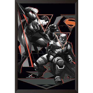 Hungover Batman Vs Superman Official Artwork Special Paper Poster