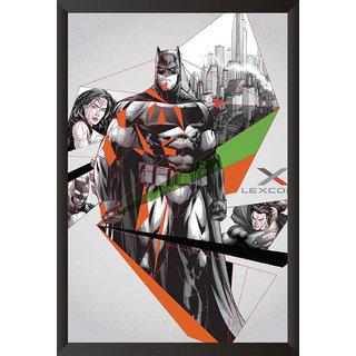 Hungover Batman Vs Superman Official Artwork Special Paper Poster