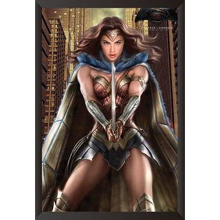 Hungover Wonder Women Batman Vs Superman Official Artwork Special Paper Poster