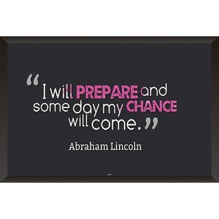 Abraham Lincoln Quote Poster