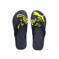PUMA Men Navy Eagle DP Flip-Flops