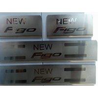 Premium Quality SS Door Sill Plates for Ford Figo