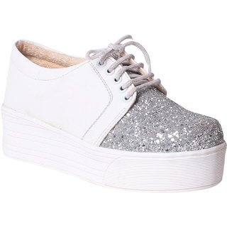 Msc Womens White Sneakers