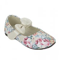 Joy n Fun Synthetic Leather Floral Print Bellies