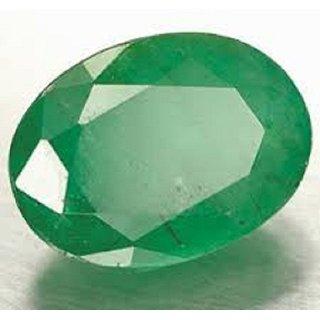 Barmunda gems 7.25 Ratti Certified Natural Precious Gemstone Emerald (Panna)