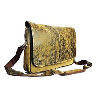 Mens Tan Leather Messenger Bag Prices in India- Shopclues- Online ...