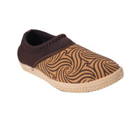 Gnx Women Tan Lace-up Casual Shoes