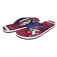 U.S. Polo Assn. Men's Blue And White Flip Flops