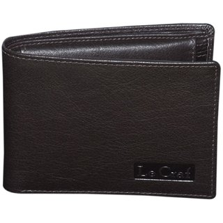 Dark Brown Mens Leather Wallet