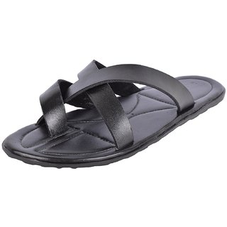 Accolade Men's Black Slip on Outdoor Sandals