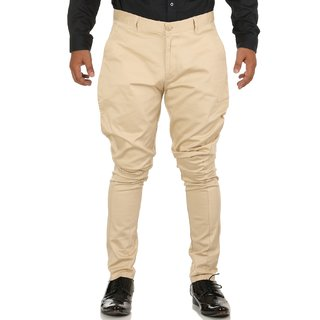 Breakthrough Trendy Jodhpur Breeches (Men, Cream)