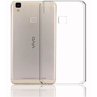 Vivo V3 Transparent Back Cover