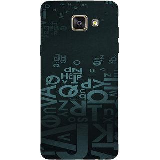 Samsung Galaxy A7 (2016) Printed back cover