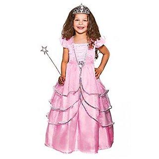 Crystal Pink Princess Costume 3 Piece Set (age 3-5 years)