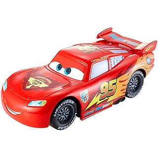 Disney Pixar Cars Wheelies Lightning McQueen Pullback Vehicle